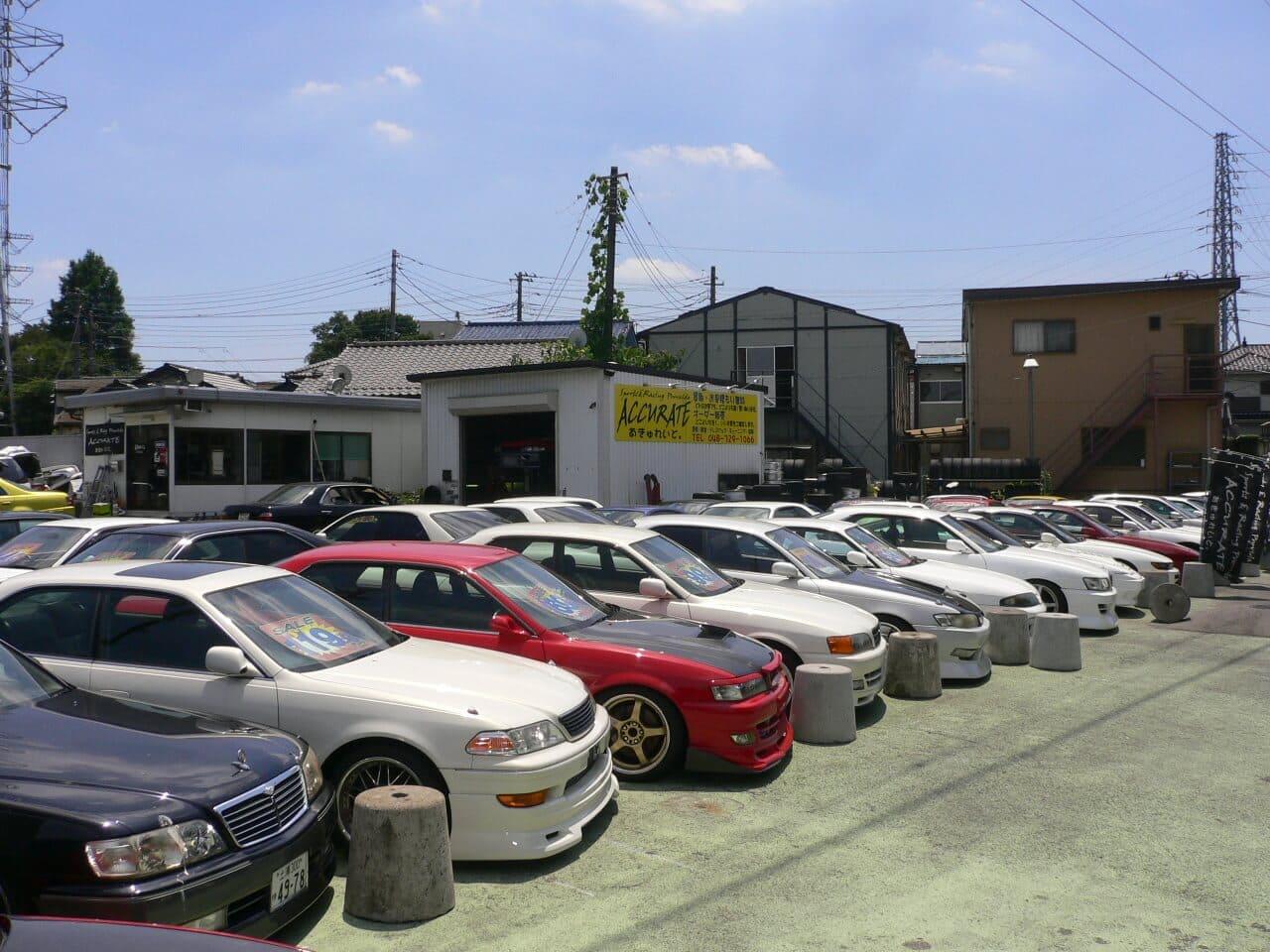 改造車の展示車